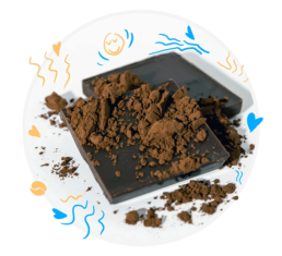 Noowave Cofee includes Raw Cacao to trigger three neurotransmitters that are associated with elevating mood and mental well-being: serotonin, dopamine, phenylethylamine.